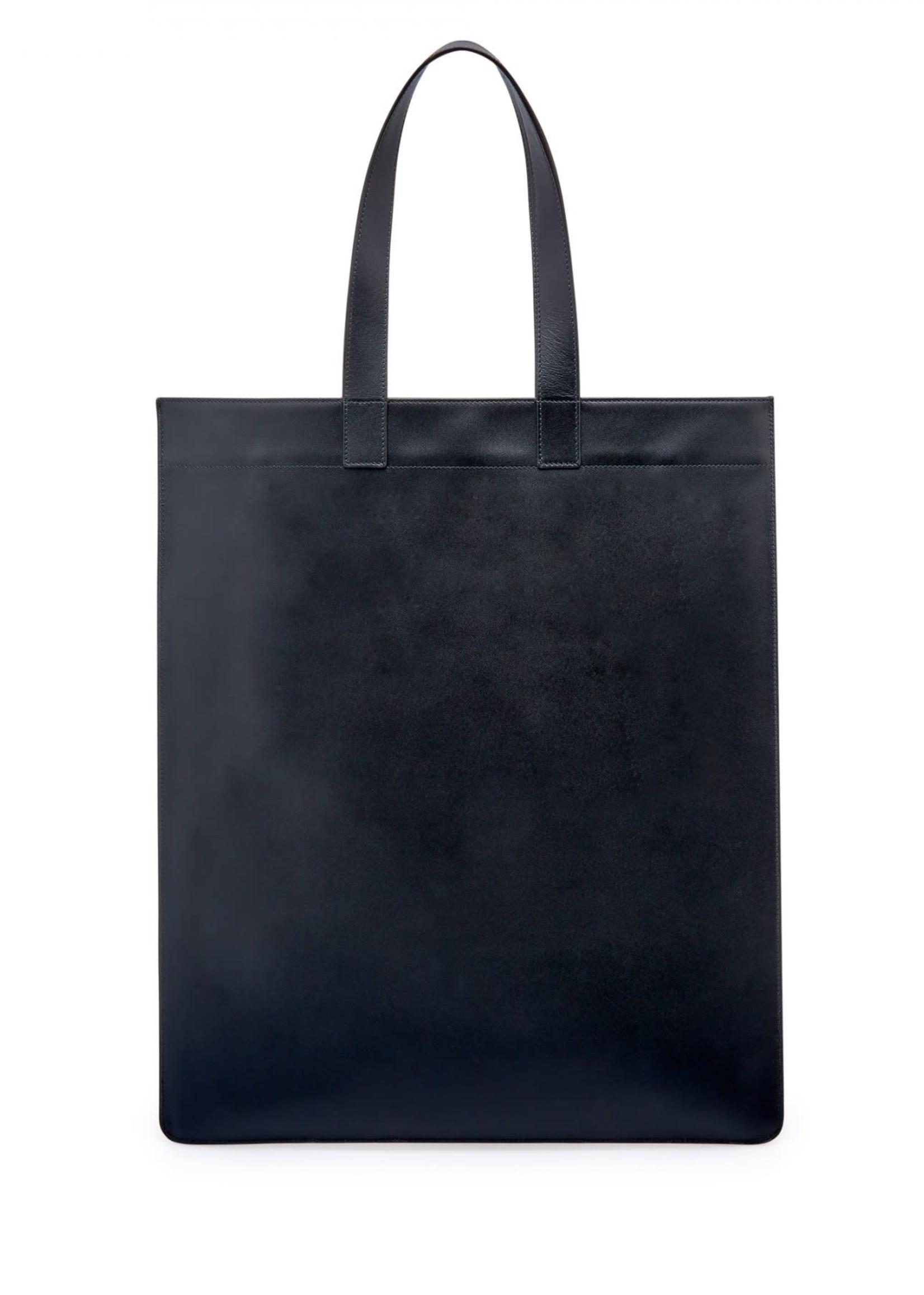 COMME des GARÇONS WALLET Comme des Garçons Classic Leather Tote in Black