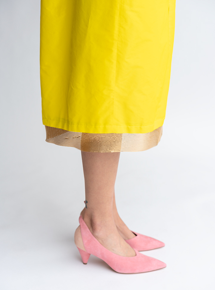 Rachel Comey Lurie Dress in Citron