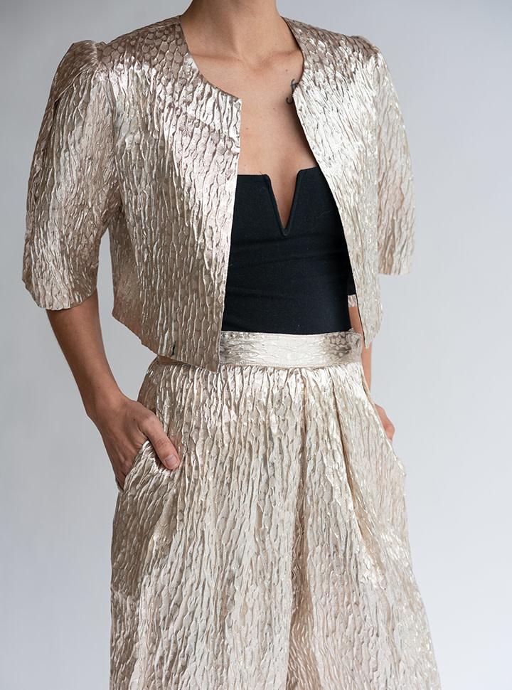 Rachel Comey Bemba Jacket in Champagne