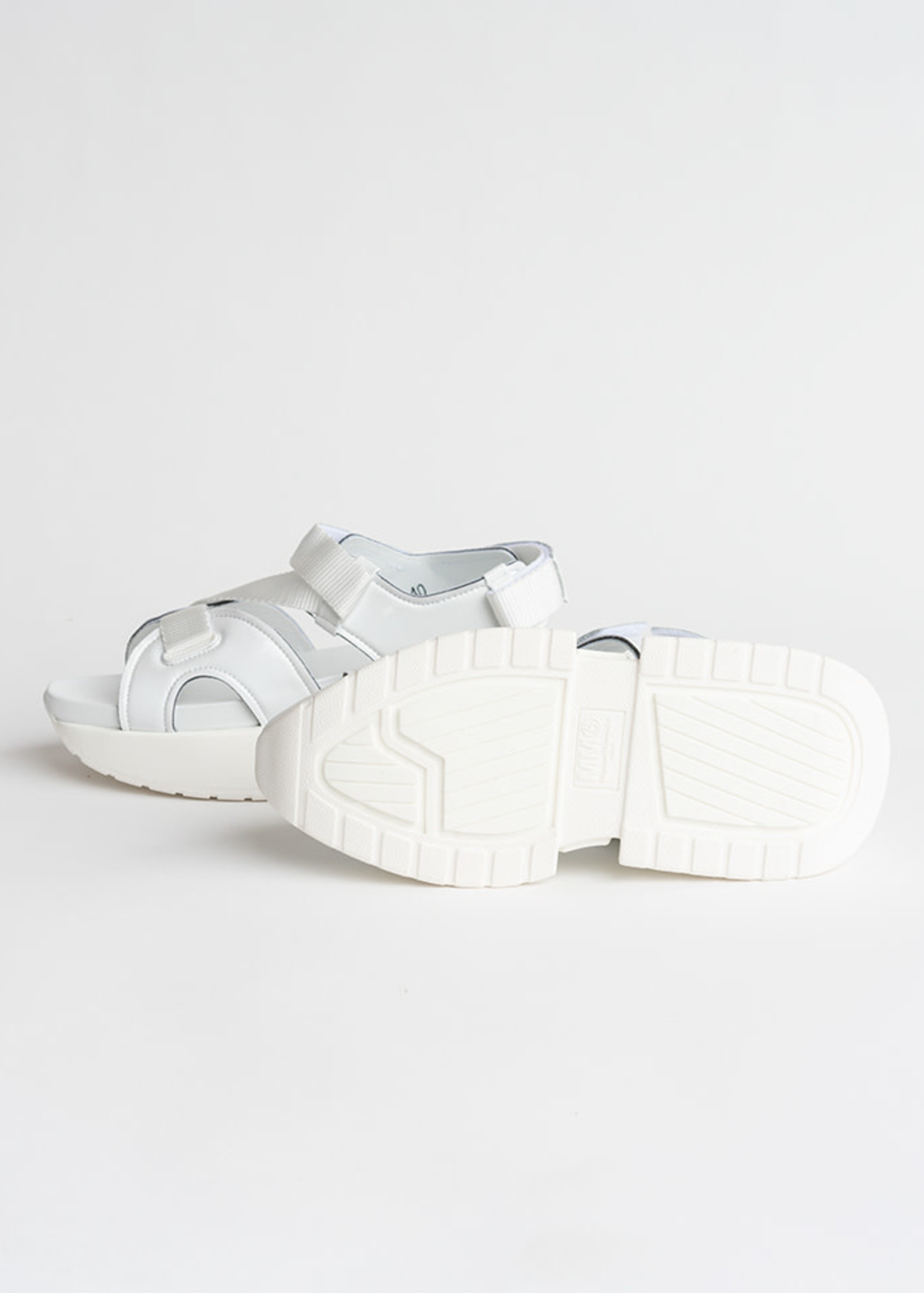 MM6 MAISON MARGIELA White Multi Strap Sandal