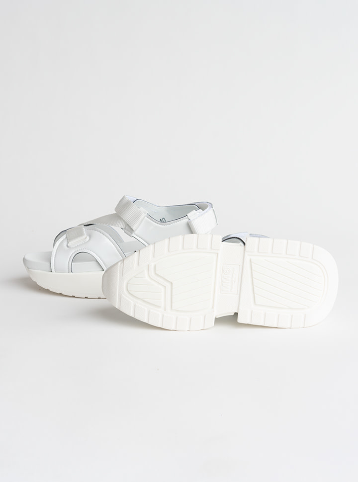 MM6 MAISON MARGIELA White Multi Strap Sandal