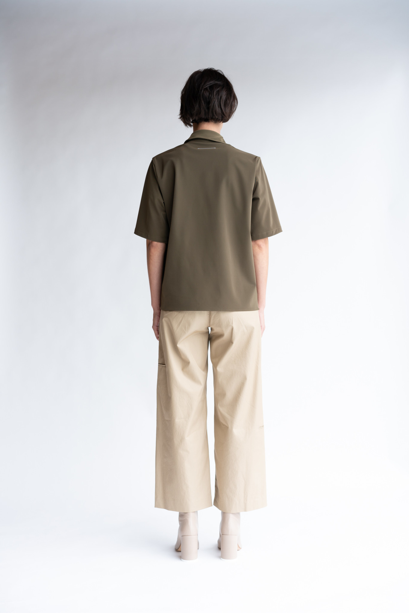MM6 MAISON MARGIELA Double Knee Trouser in Camel Twill