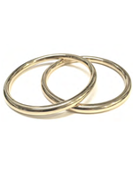 Lady Grey Core Bangle Set in Gold