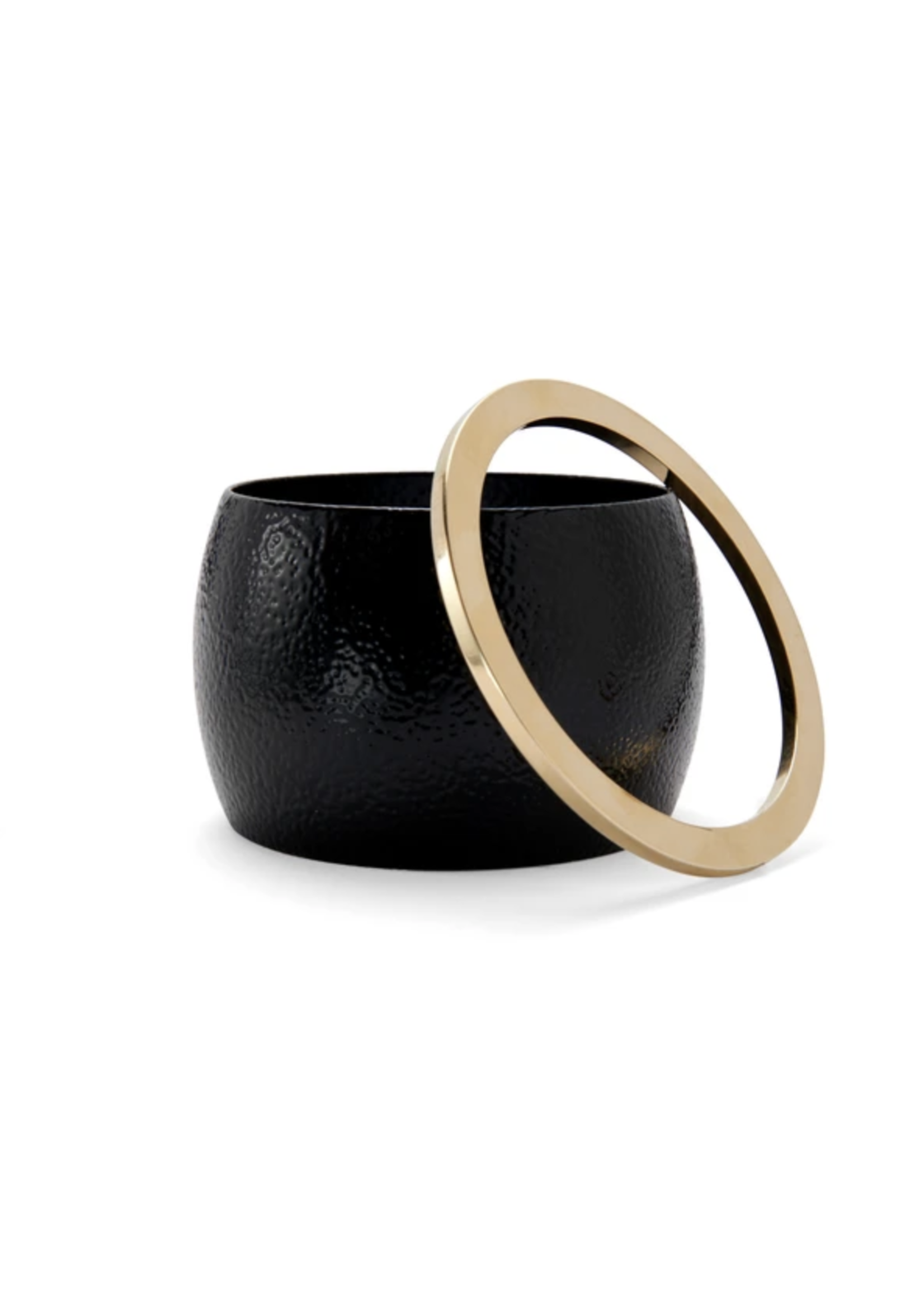 Lady Grey Eve Bangle Set in Black and Gold