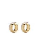 Lady Grey Lady Grey Dome Hoops in Gold