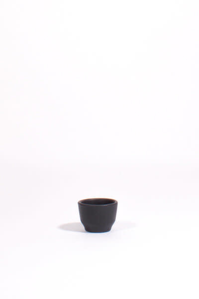 Lagos Del Mundo Black Ceramic Shot Glasses