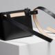 Building Block Building Block Belt Bag in Black Leather