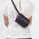 Building Block Building Block Belt Bag in Black Leather