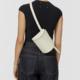 Building Block Beltpack in Bone Leather