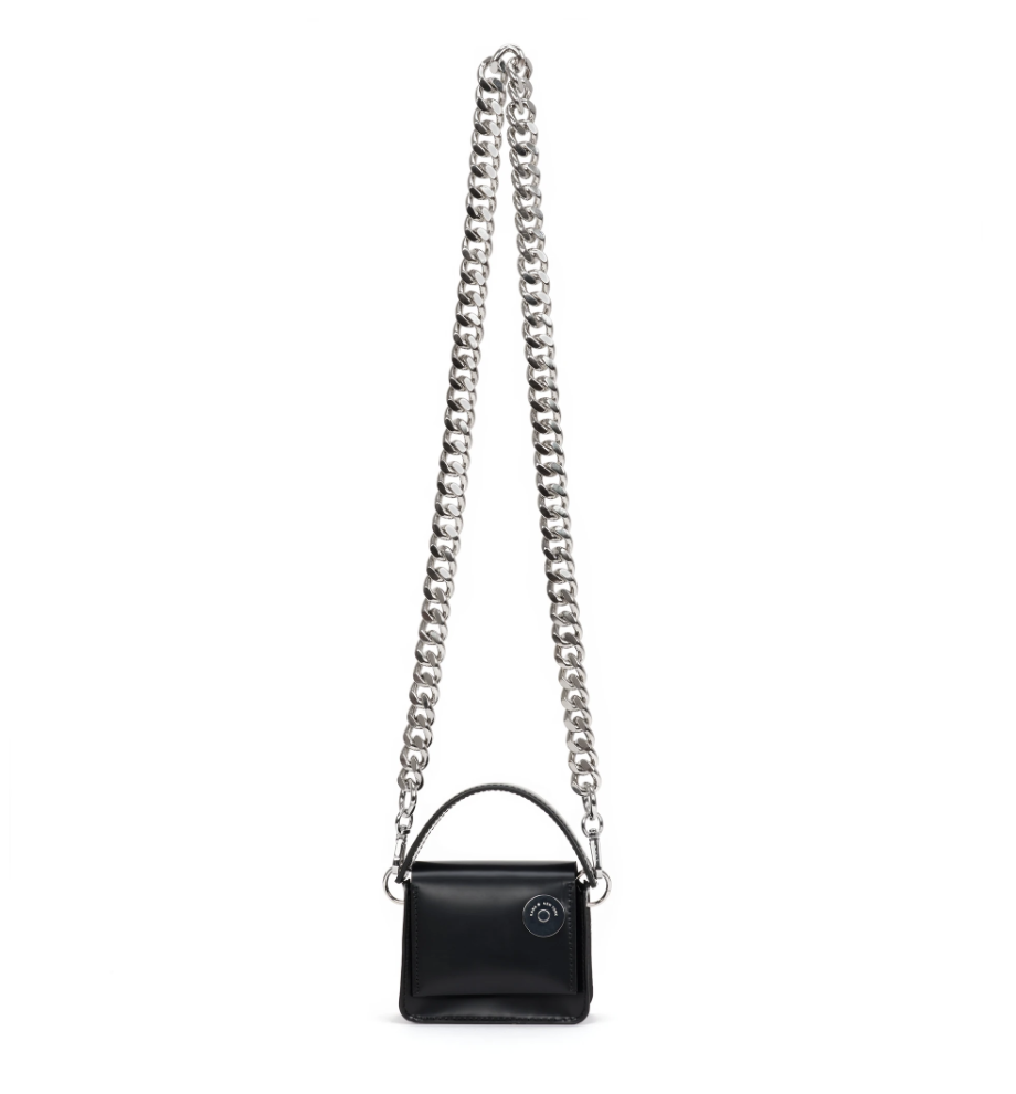KARA MICRO PINCH MINI BAG IN Black