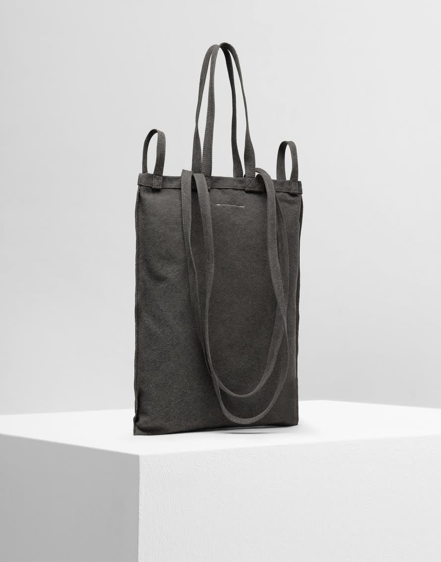 MM6 MAISON MARGIELA 6 handle tote bag in Military Green