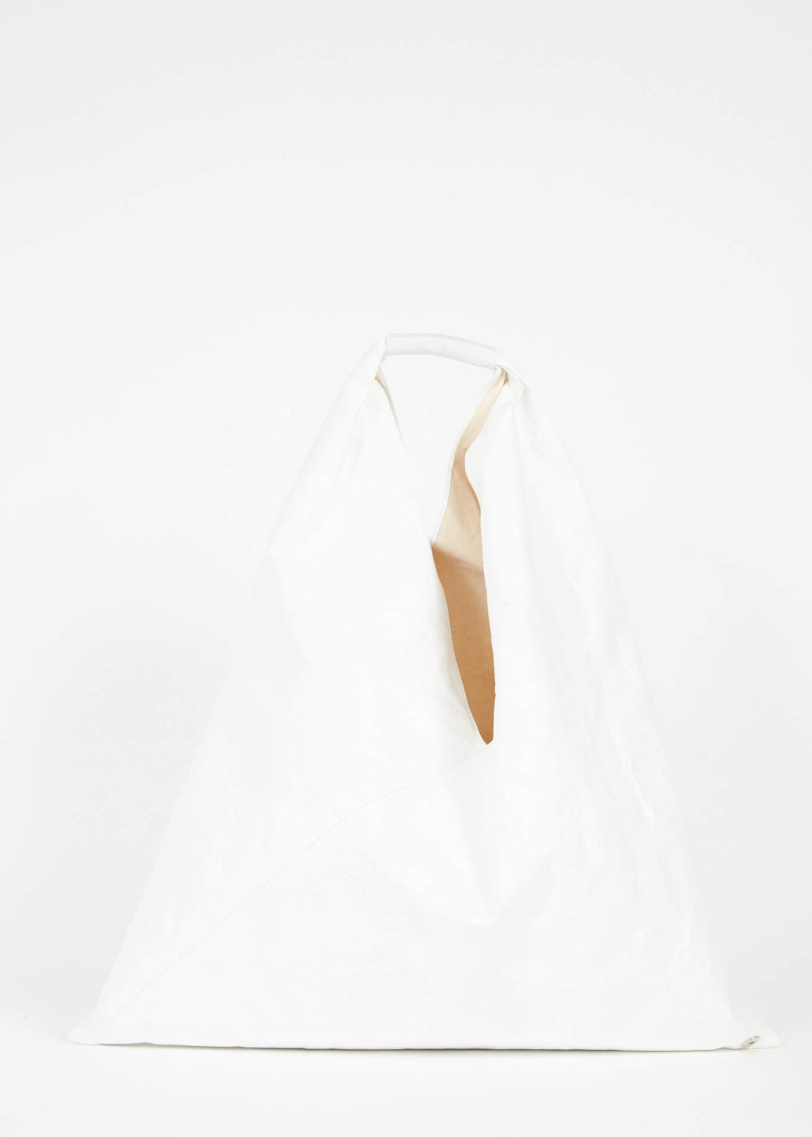 MM6 MAISON MARGIELA Medium Japanese Tote in White Recycled Paper