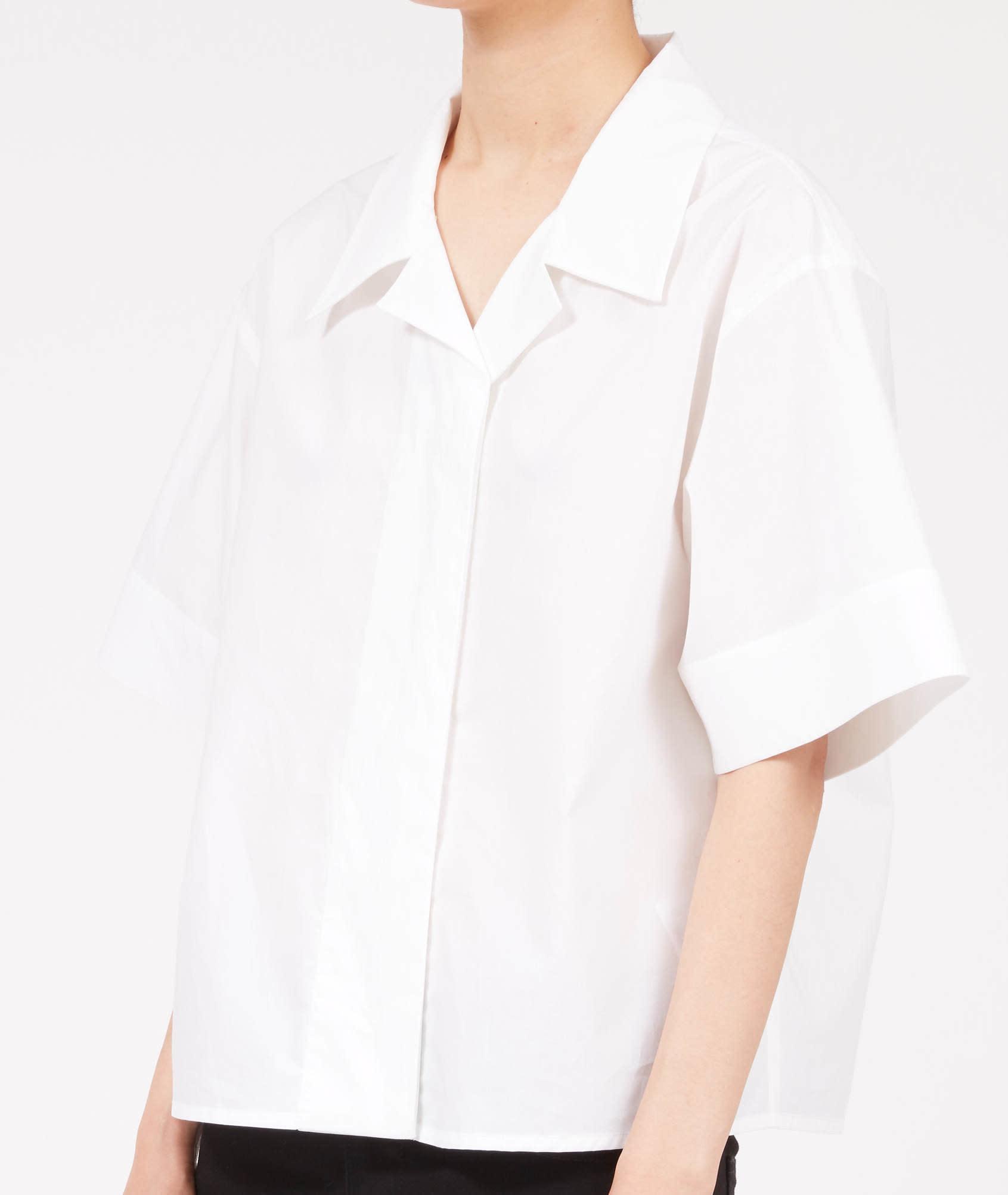 MM6 MAISON MARGIELA Camp shirt in White