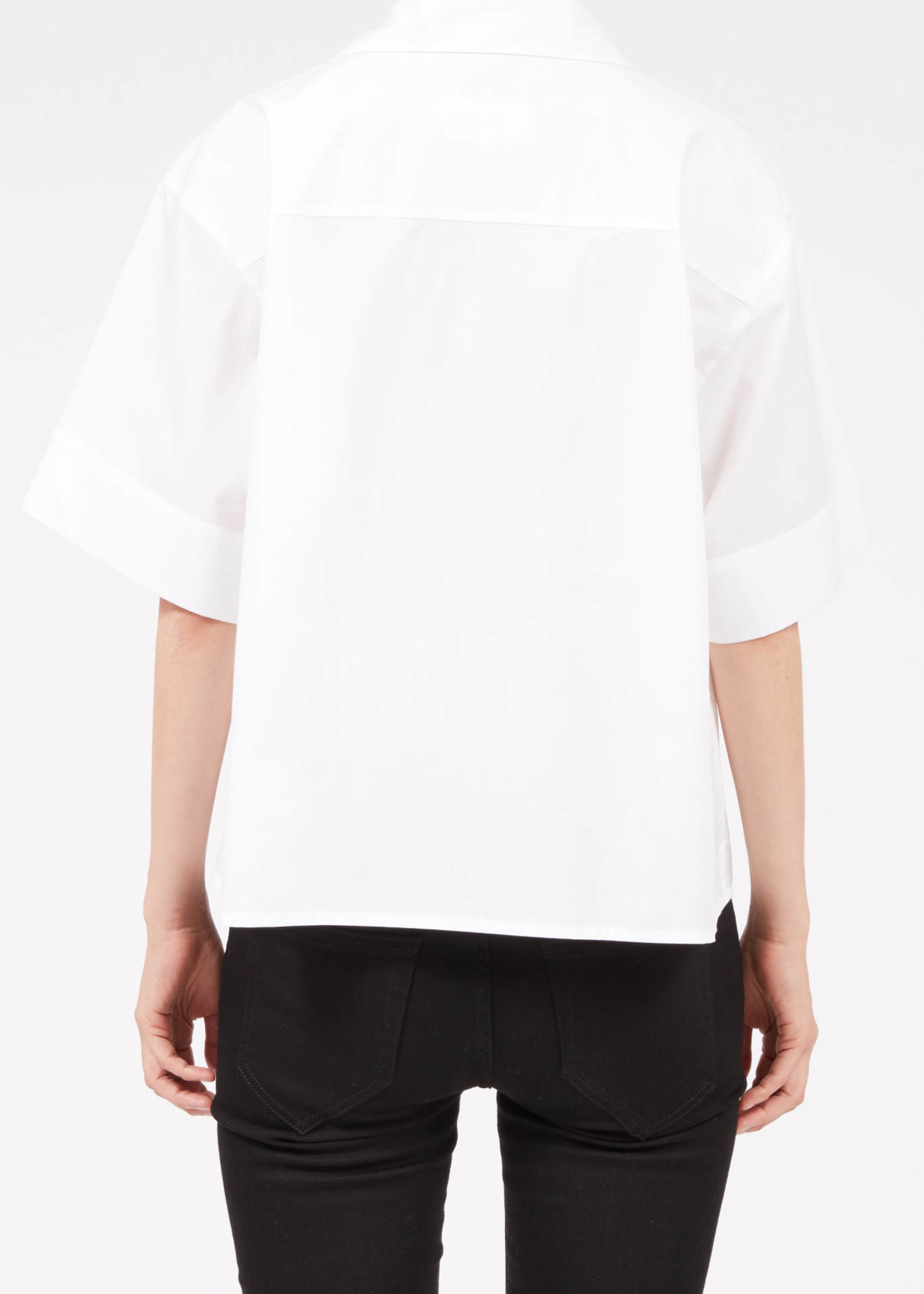 MM6 MAISON MARGIELA Camp shirt in White