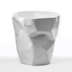 Essey Essey Crumpled Waste Basket White