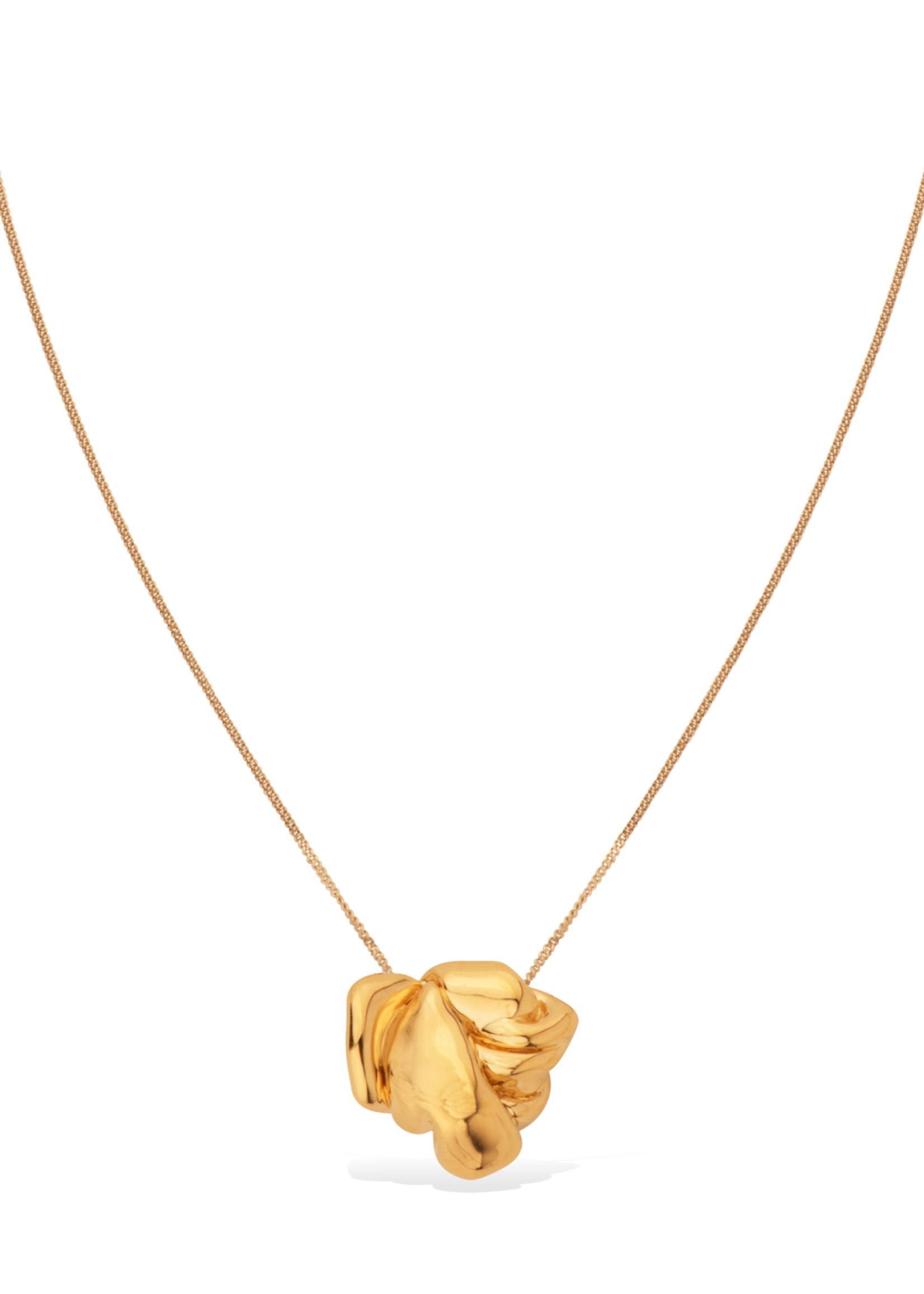 Completed Works Completed Works Origins of European Tragic Drama Gold Vermeil Necklace