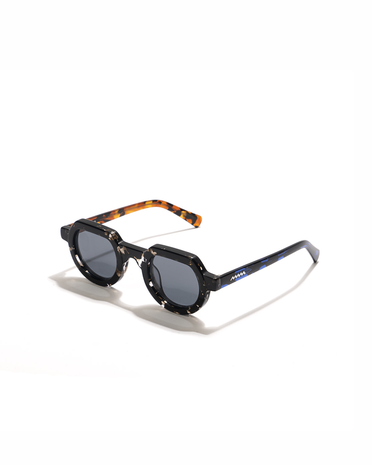 Brain Dead Tani Sunglasses in Multi-Tortoise