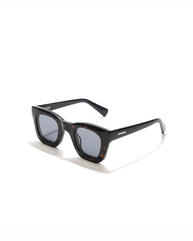 Brain Dead Elia Sunglasses in Tortoise and Black