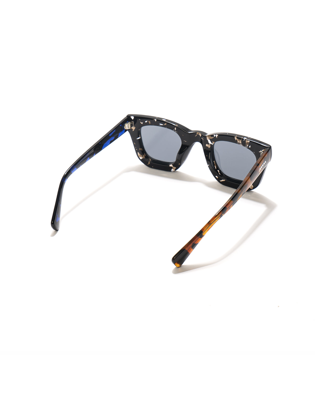 Brain Dead Elia Sunglasses in Multi-Tortoise