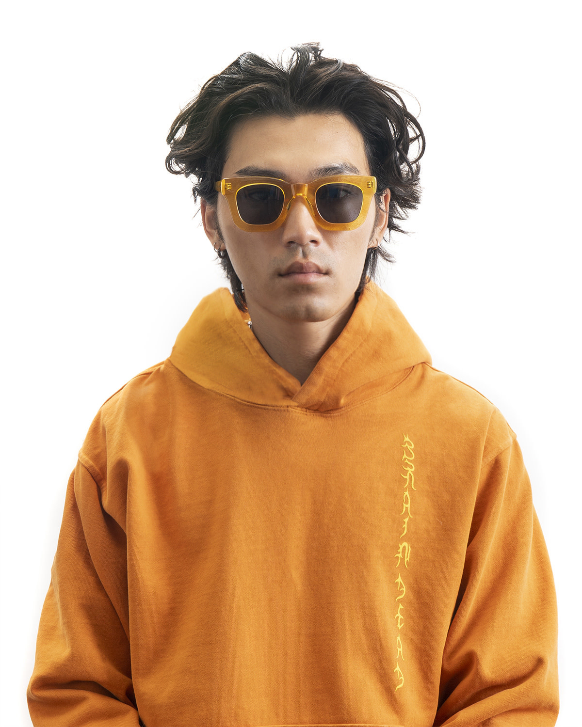 Brain Dead Elia Sunglasses in Multi-Amber