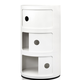 Kartell Componibili 3 Drawer Tower White