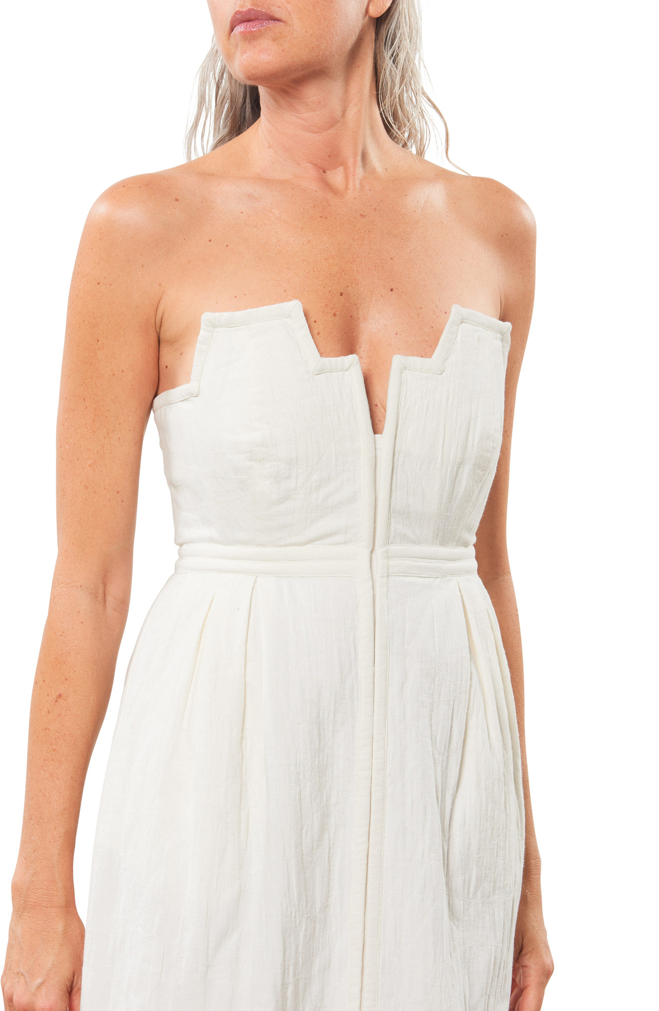 Mara Hoffman Aurelia dress in Ivory