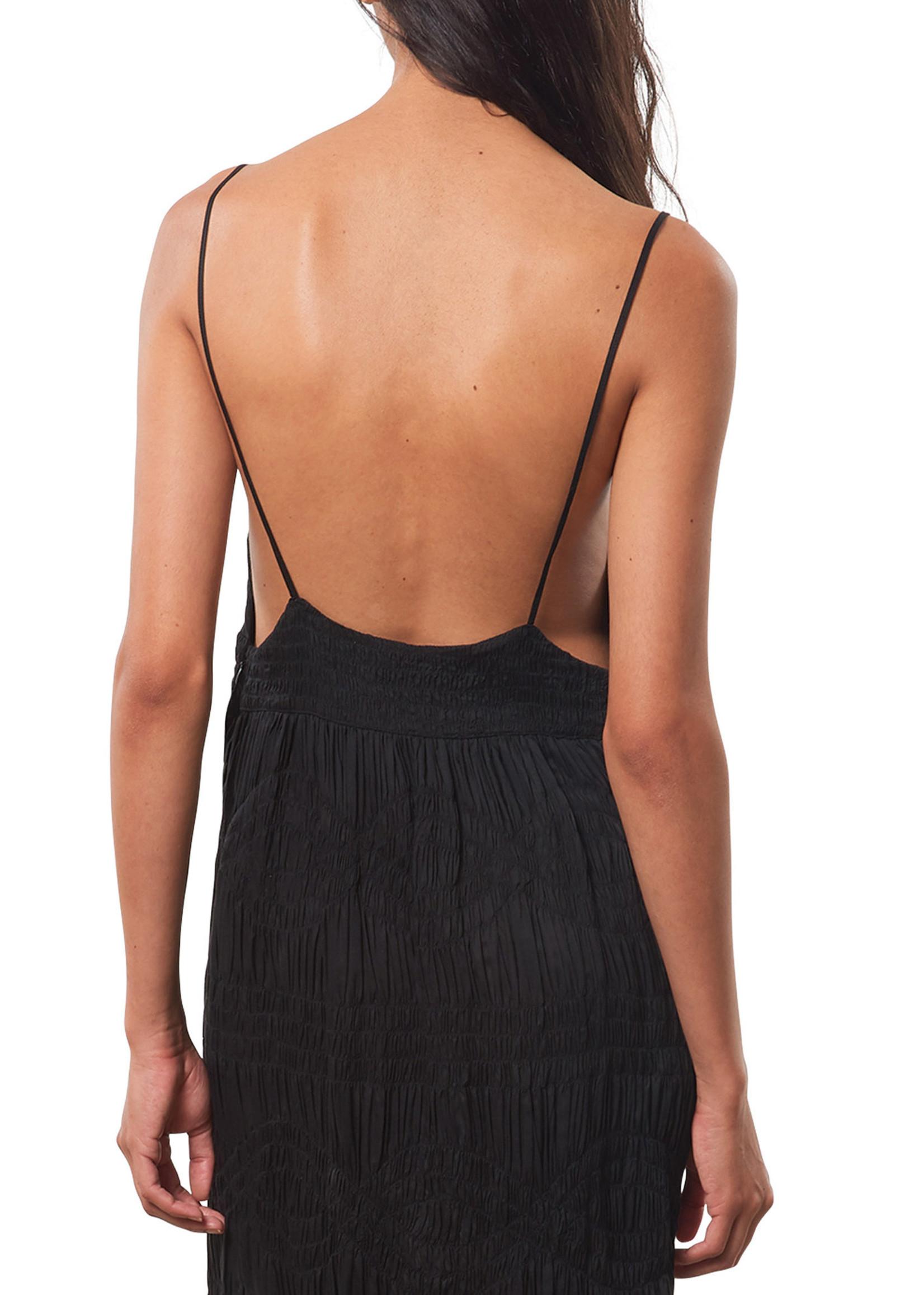 Mara Hoffman Keira Dress in Black