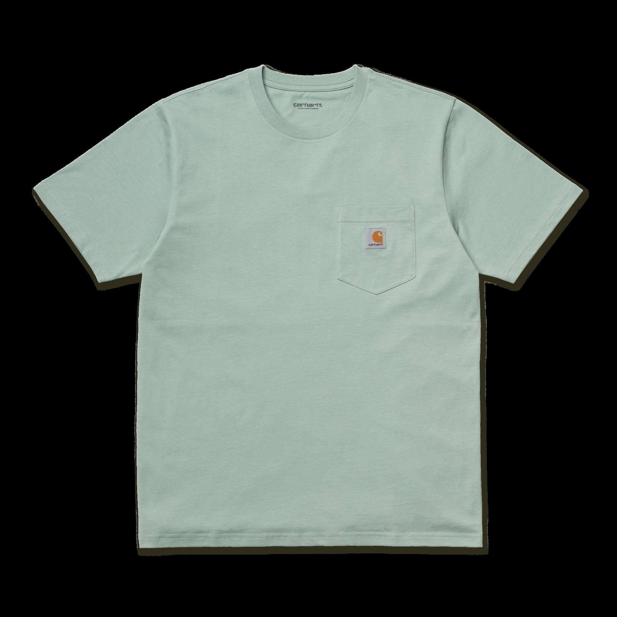 Carhartt Work In Progress Pocket T-shirt in Frosted Green