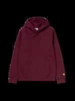 Carhartt Work In Progress Carhartt WIP Chase Hooded Sweatshirt in Bordeaux