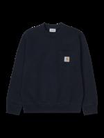 Carhartt Work In Progress Carhartt WIP Pocket Sweatshirt in Dark Navy