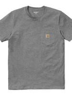 Carhartt Work In Progress Carhartt WIP Pocket T-shirt in Dark Heather