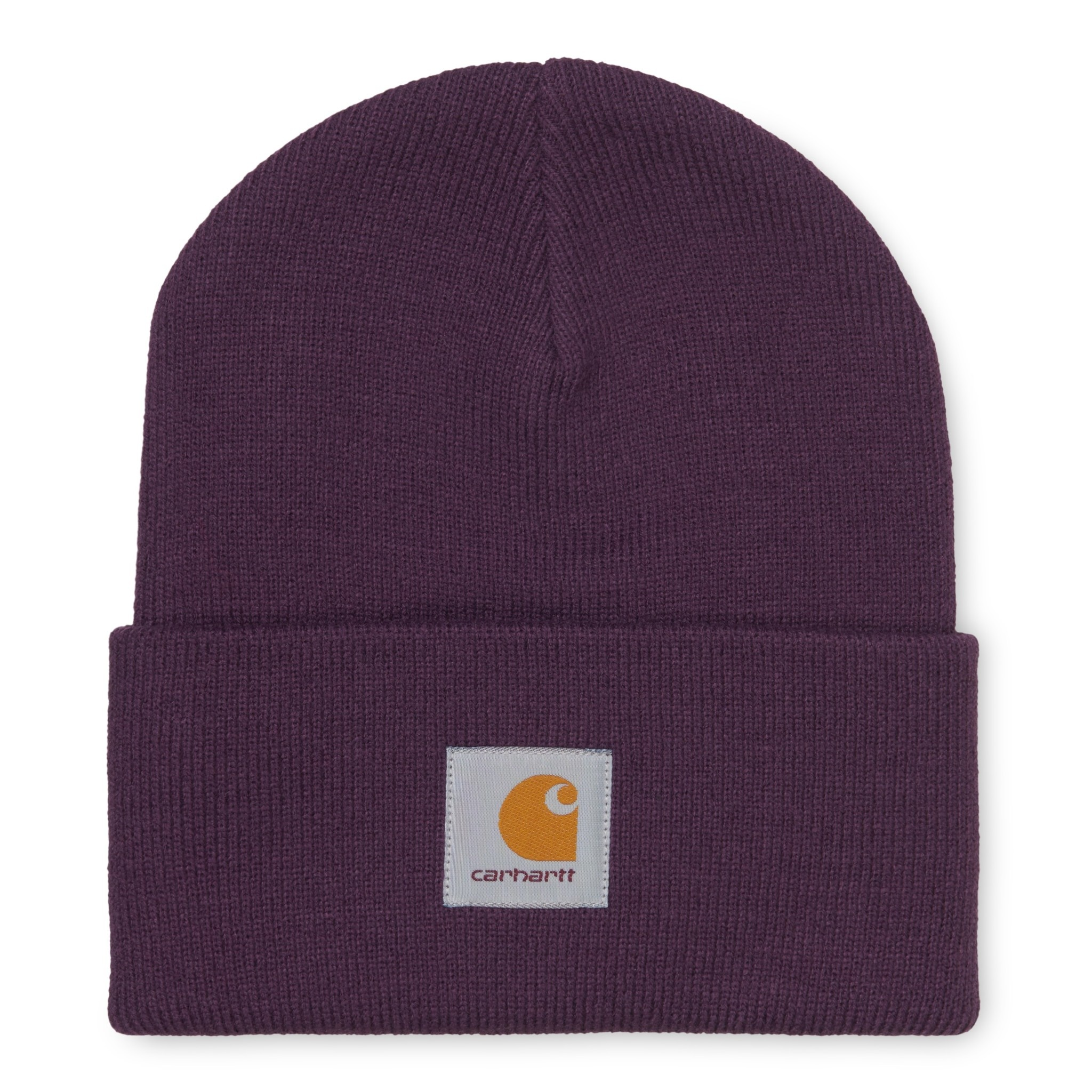 Carhartt Work In Progress Acrylic Watch Beanie in Boysenberry