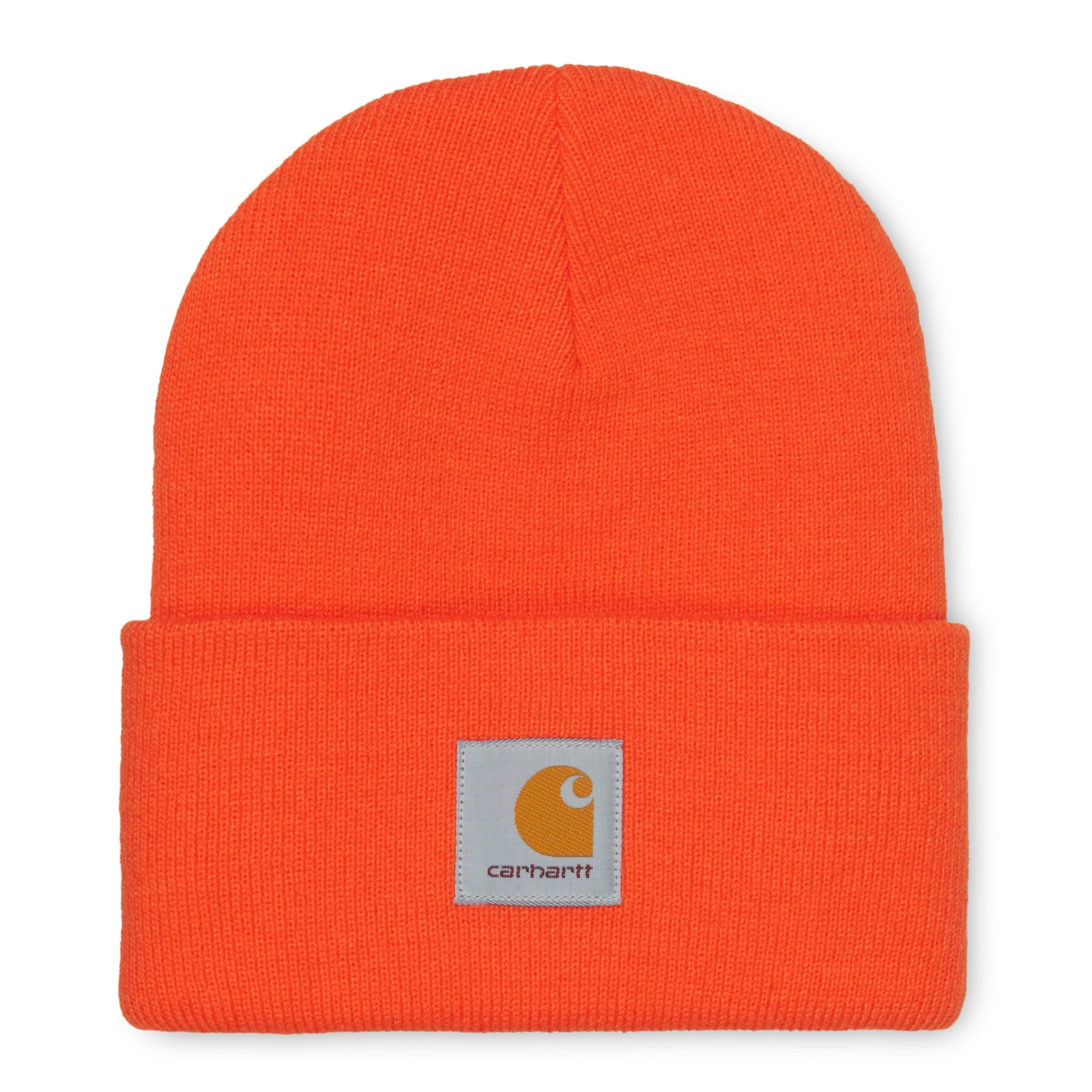 Carhartt Work In Progress Acrylic Watch Beanie in Safety Orange