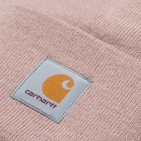 Carhartt Work In Progress Acrylic Watch Beanie in Frosted Pink