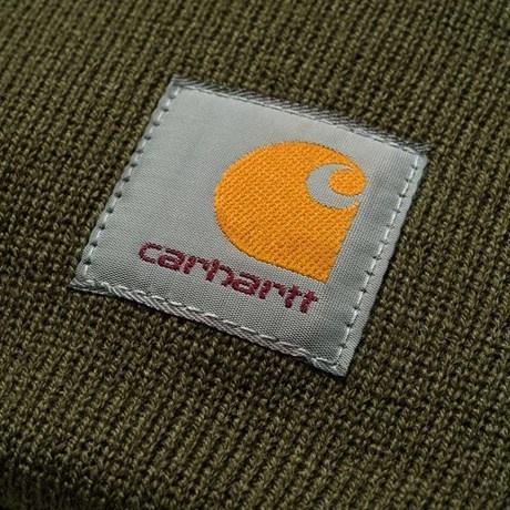 Carhartt Work In Progress Carhartt WIP Acrylic Watch Beanie in Cypress