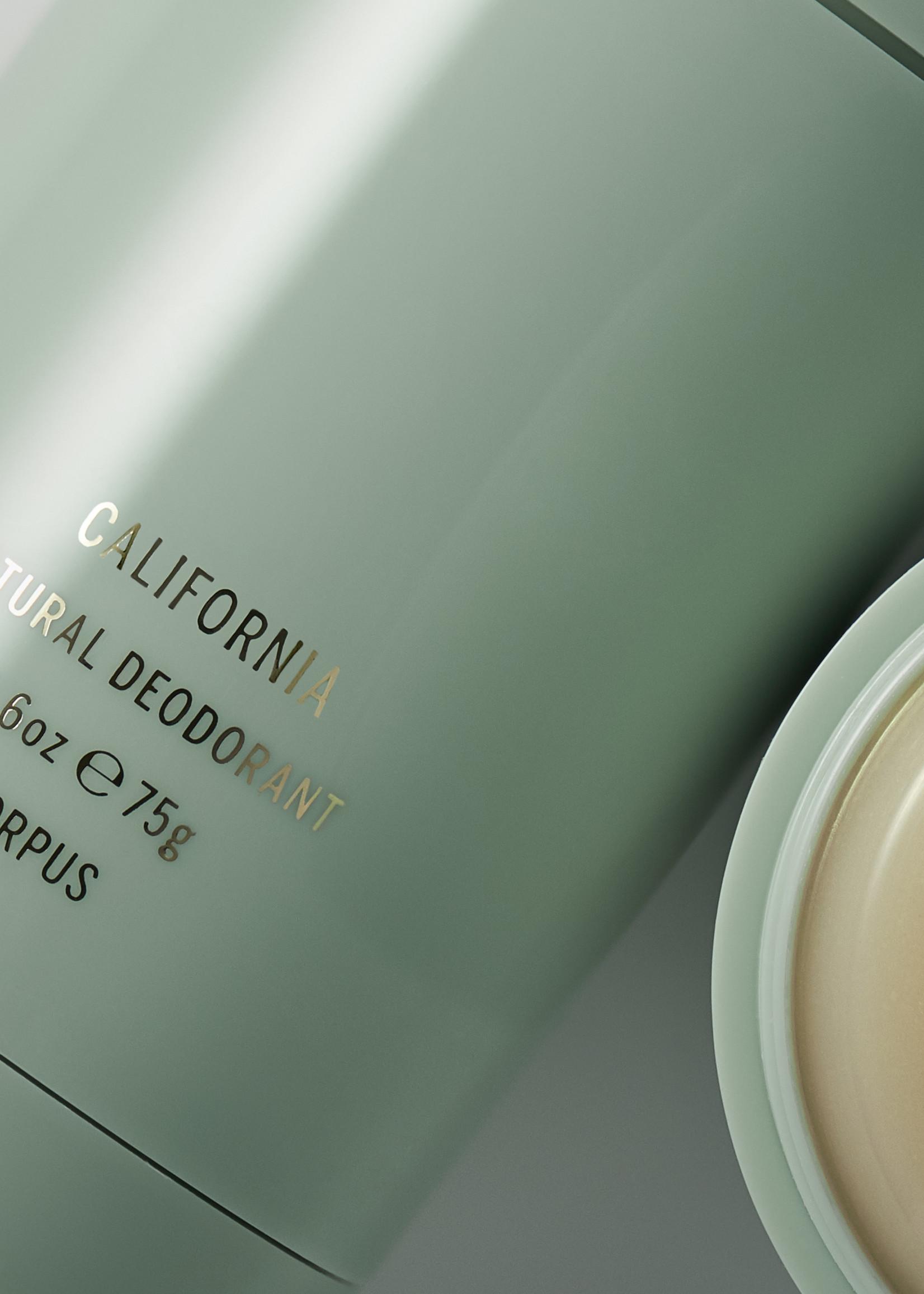 Corpus Natural Deodorant: California 2.6oz