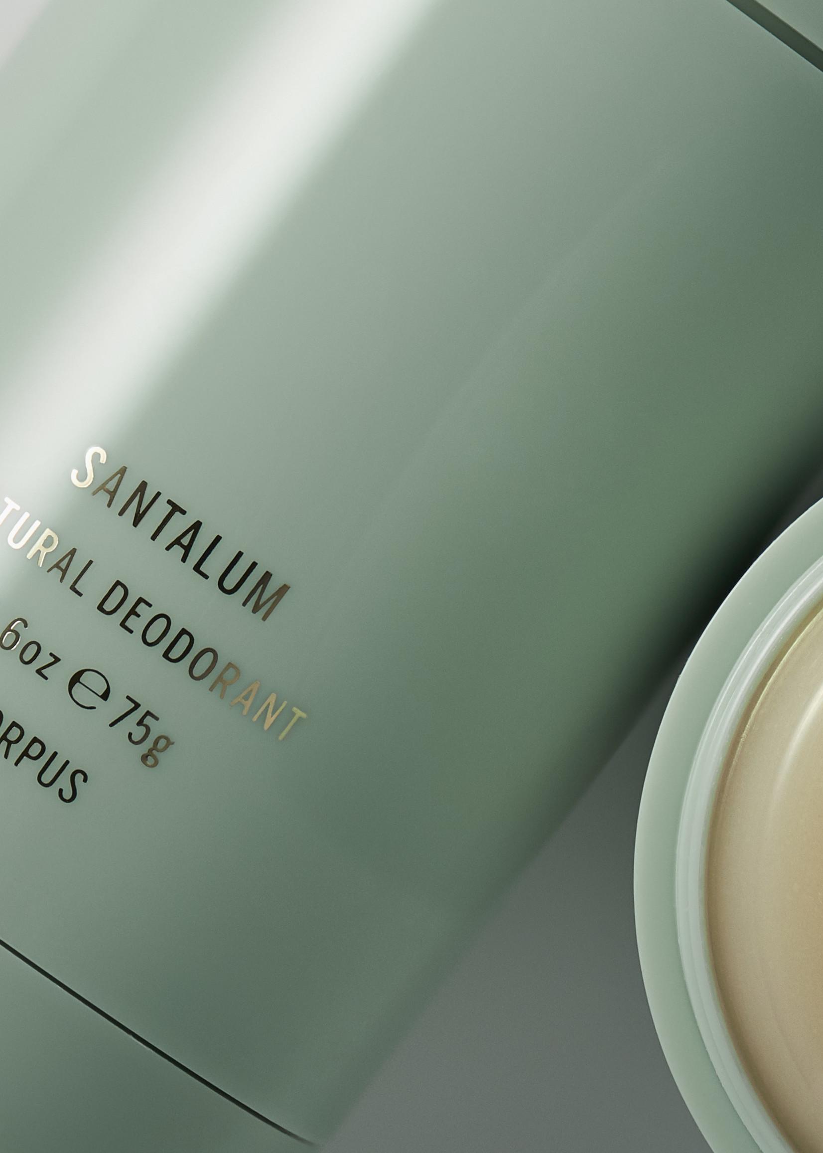 Corpus Natural Deodorant: Santalum 2.6oz