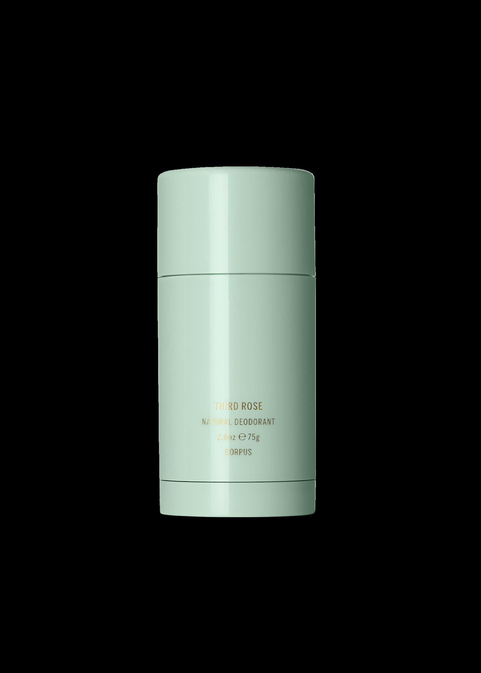 Corpus Natural Deodorant: Third Rose 2.6oz