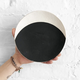 MQuan Full Eclipse Dish in Black