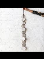 MQuan MQUAN Single Strand Hanging Discs in White