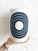 MQuan MQUAN Rings Vase in Indigo