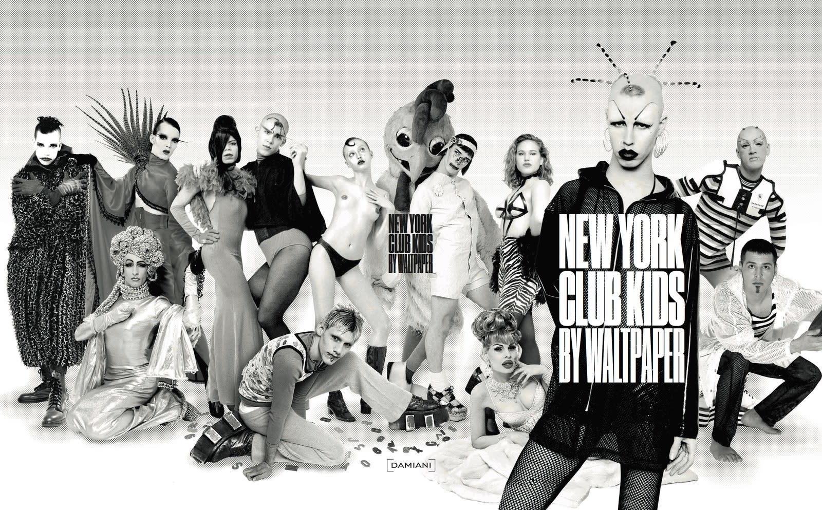 New York Club Kids by Walt Paper