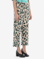 MM6 MAISON MARGIELA MM6 MAISON MARGIELA Leopard Jacquard Cropped Pants