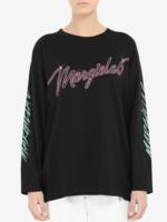 MM6 MAISON MARGIELA MM6 MAISON MARGIELA  6 Neon Logo T-shirt