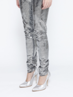 MM6 MAISON MARGIELA MM6 MAISON MARGIELA Disco Ball High Waisted Leggings