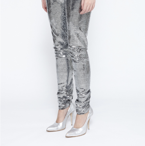 MM6 MAISON MARGIELA Disco Ball High Waisted Leggings