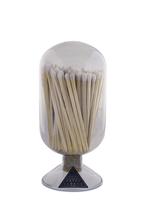 Match Glass Cloche in Smoke