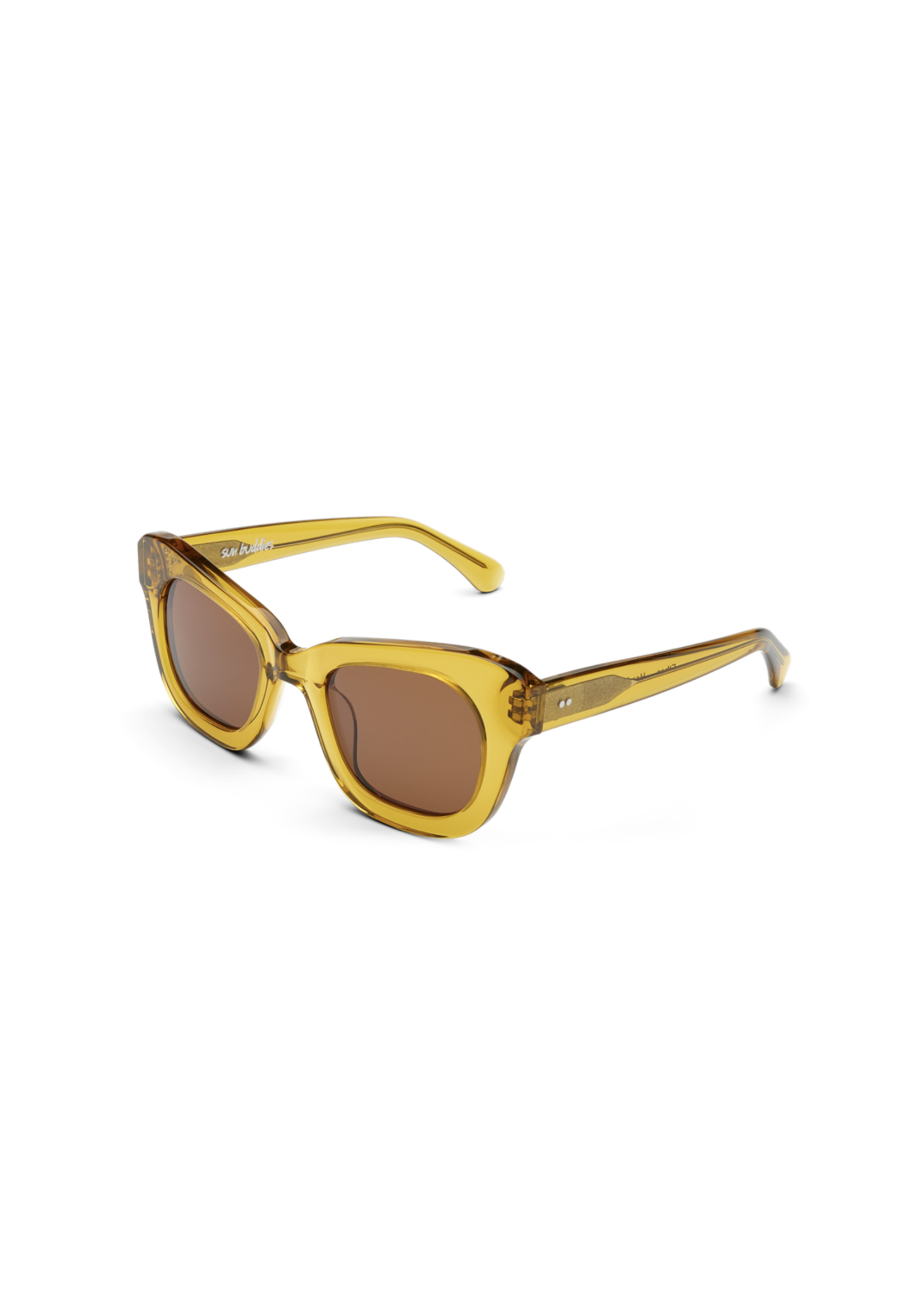 Sun Buddies Ethan Sunglasses in Honey Mustard