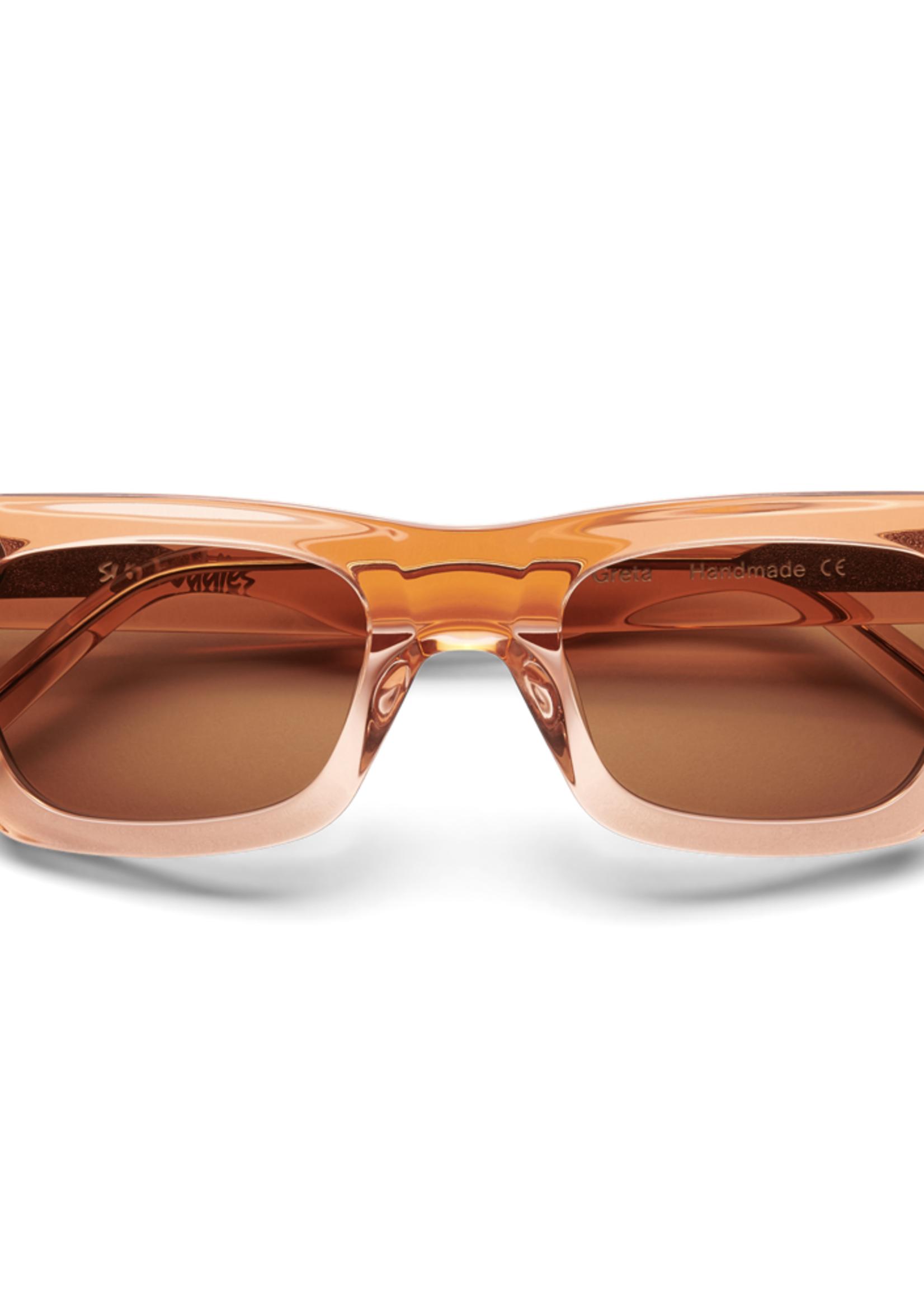 Sun Buddies Sun Buddies Greta Sunglasses in Pale Orange