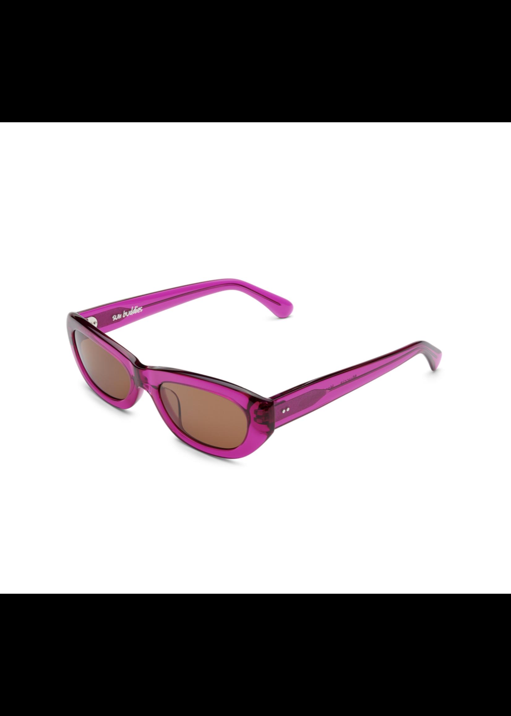 Sun Buddies Miuccia Sunglasses in Magenta